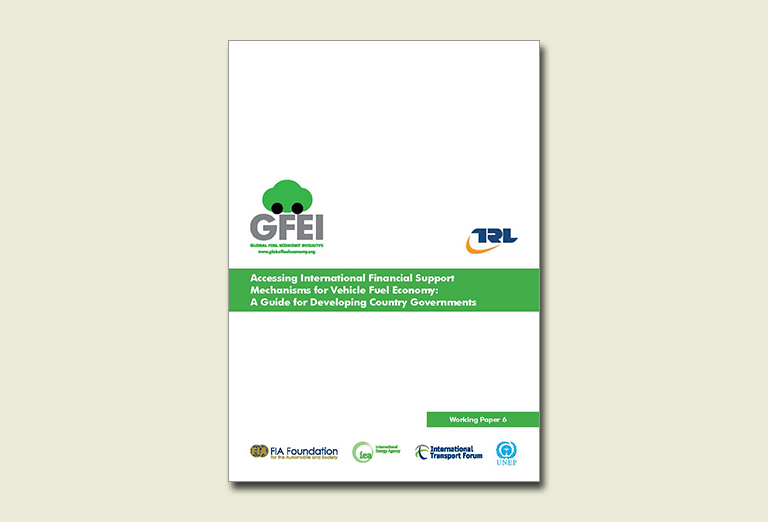WP6: Financial Support Mechanisms for Vehicle Fuel Economy: A Guide