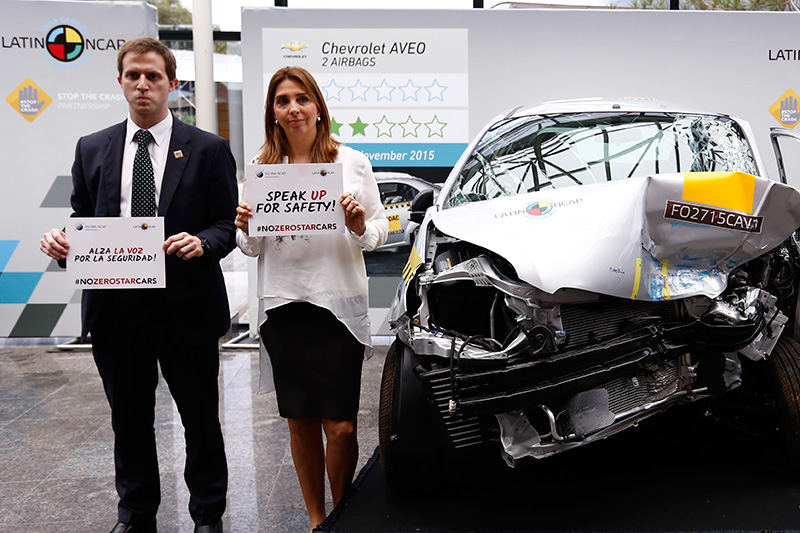 Latin NCAP tells GM to 'speak up for safety'