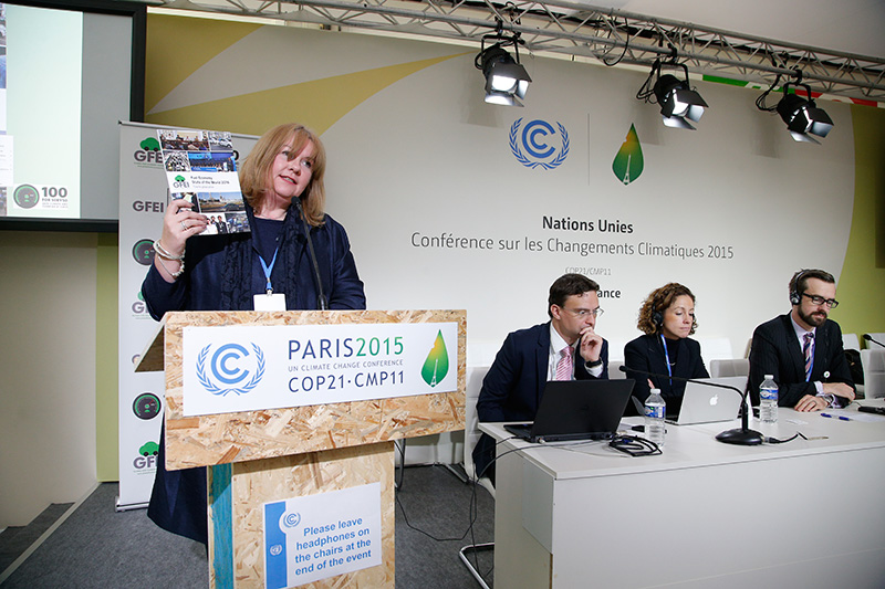 GFEI launches 'Fuel Economy State of the World report' at COP21
