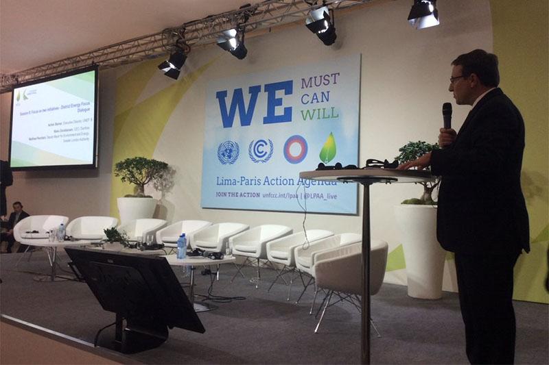 Achim Steiner, Executive Director of UNEP, made special reference to GFEI as 'a model alliance that should inspire other sectors' during the Energy Efficiency LPAA action day