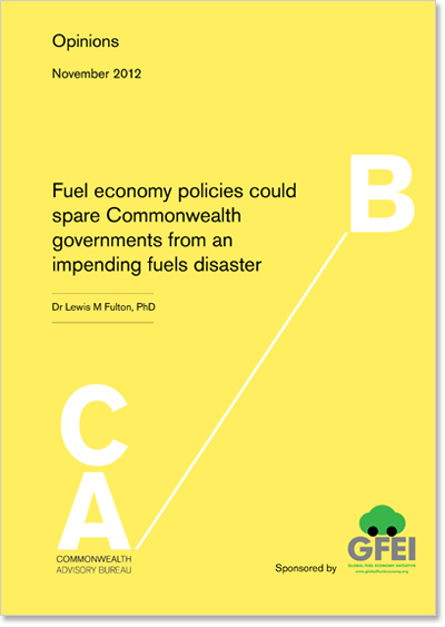 Fuel economy policies could spare Commonwealth governments from an impending fuels disaster (1)