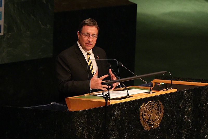 Achim Steiner, Executive Director of UNEP, stated that we have arrived at a moment to celebrate the emergence of a sustainable development agenda.