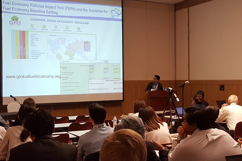 GFEI at Better Air Quality Conference in Korea