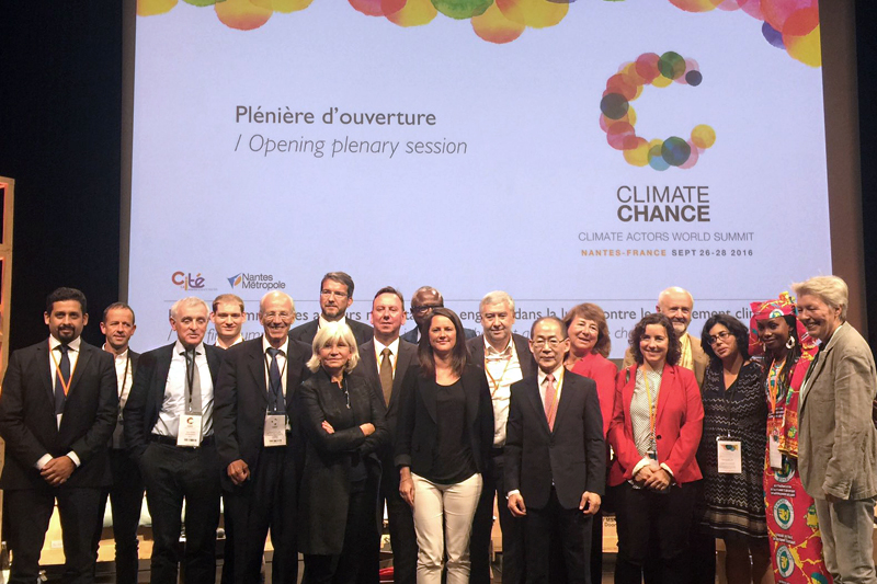 GFEI shares experiences at global Climate Chance summit in Nantes