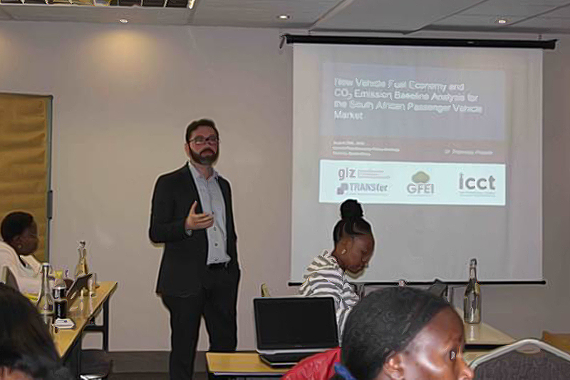 Preliminary results of work being done by the ICCT in developing a fuel economy baseline for South Africa were presented at the workshop.