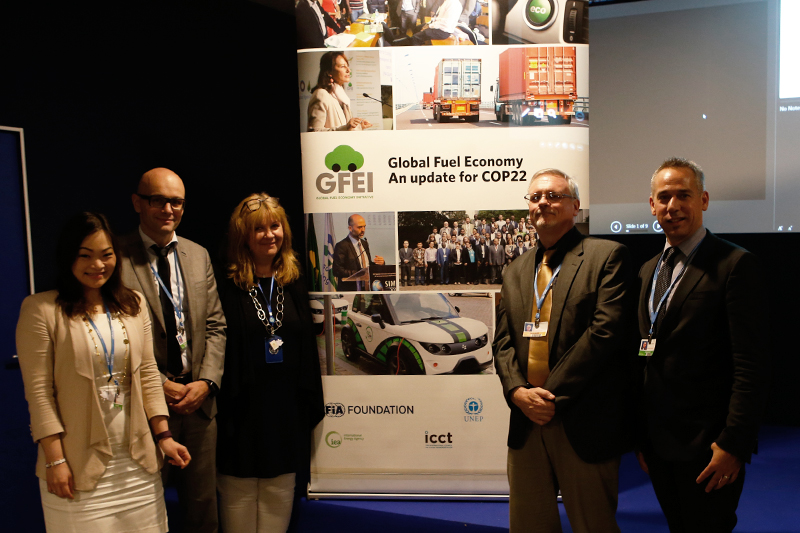 Sheila Watson and the GFEI partners