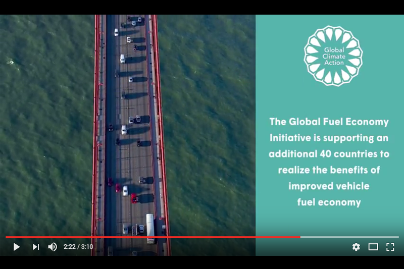 GFEI acknowledged in COP22 roundup video.