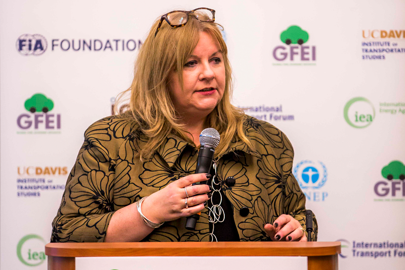 Sheila Watson, GFEI Executive Secretary and Deputy Director of the FIA Foundation.