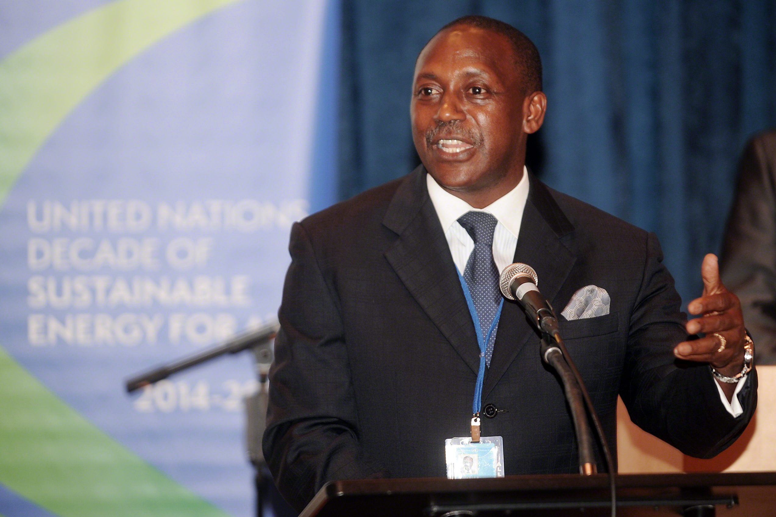 Kandeh Yumkella, Special Representative to the UN Secretary-General and CEO, SE4ALL