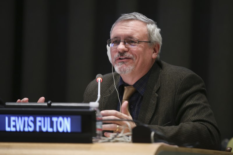 Lew Fulton presented on sustainable transport targets to the UN Open Working Group