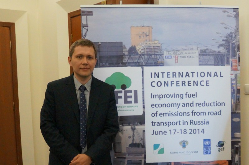 Nikolai Kharitoshkin of the Ministry of Transport
