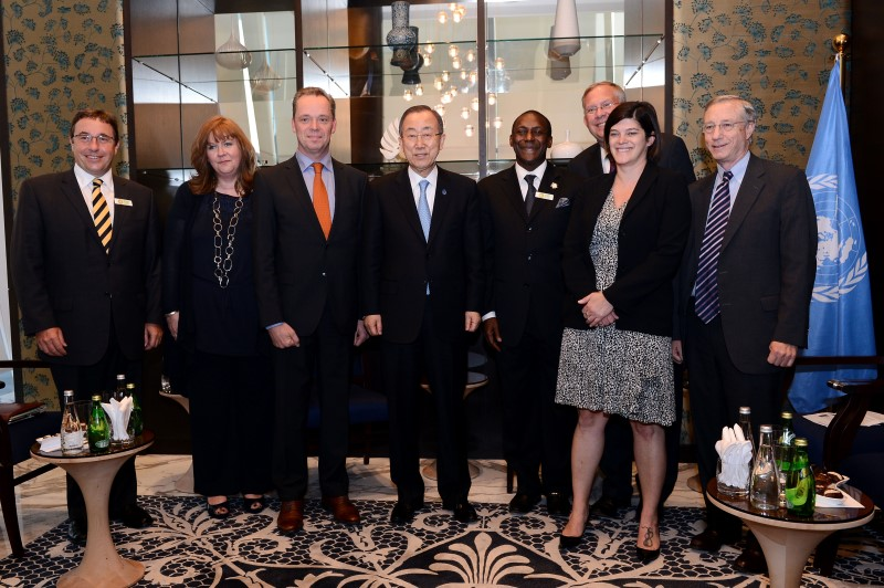 GFEI briefs UN Secretary General at global Climate Conference