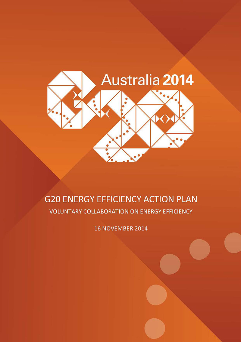 G20 Summit Energy Efficiency Action Plan