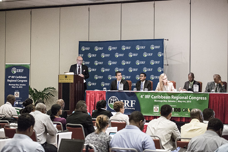 IRF Caribbean Congress hears call for walking and cycling investment