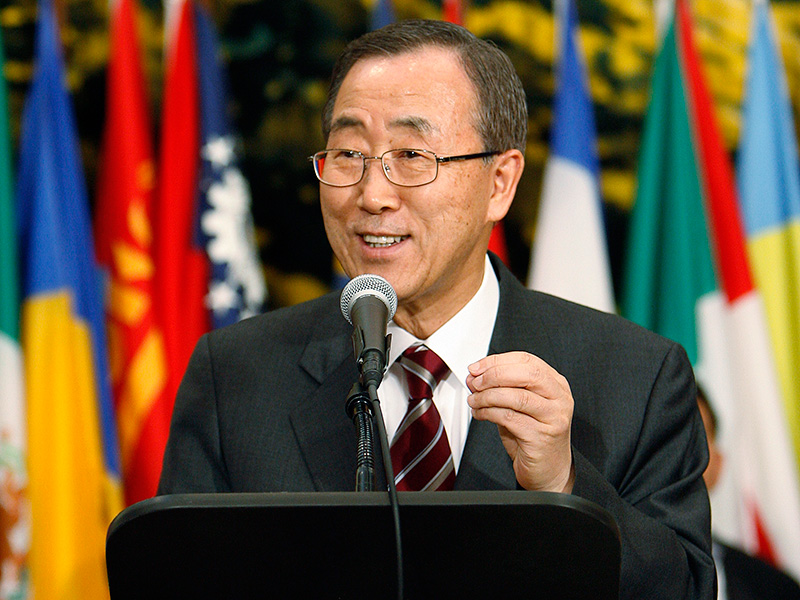 UN Secretary General Ban Ki-moon formed the High-Level Advisory Group