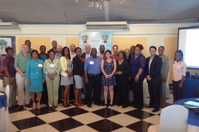 Participants at Jamaica launch and workshop