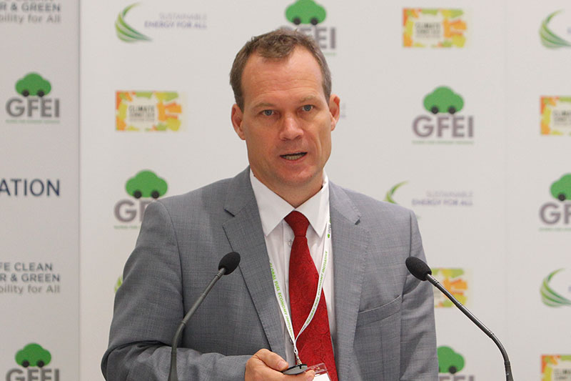 Rob de Jong, Head of the Transport Unit in UNEP's Division of Technology, Industry and Economics (DTIE).