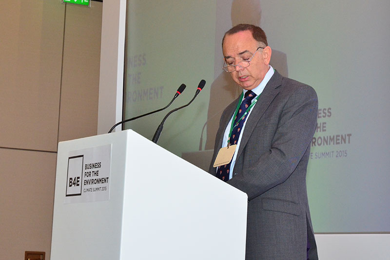 Lord Bourne of Aberystwyth speaking at the B4E Annual Summit in London