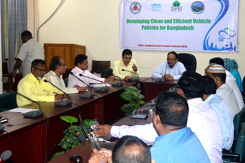 Bangladesh starts process of developing fuel economy policies