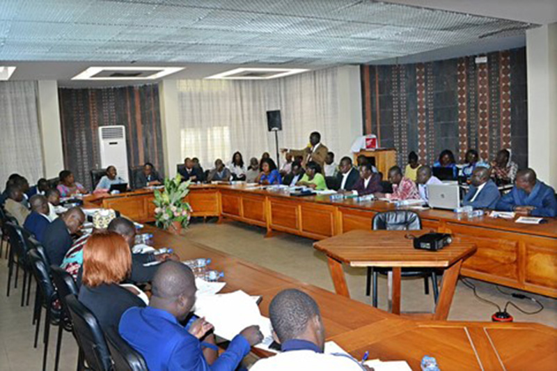 The workshop was held in Lome.