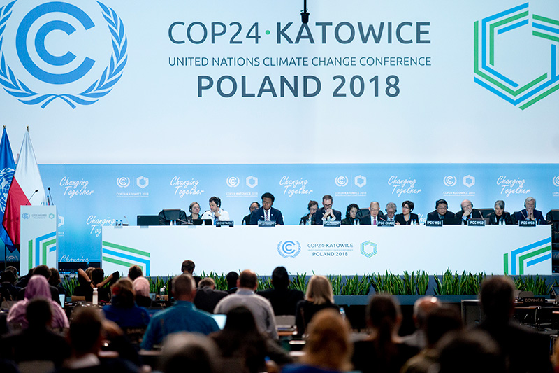 COP24 Climate Change talks in Katowice