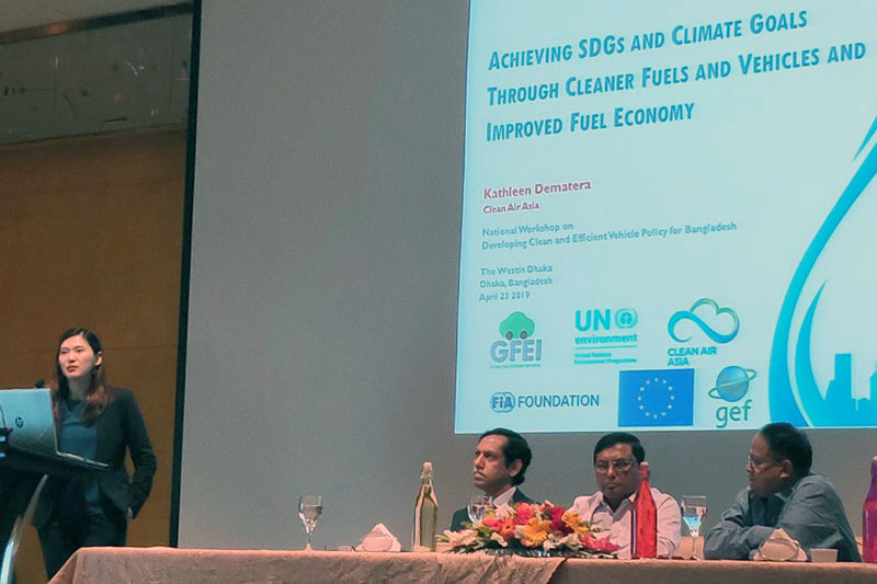 Bangladesh shares fuel economy baseline