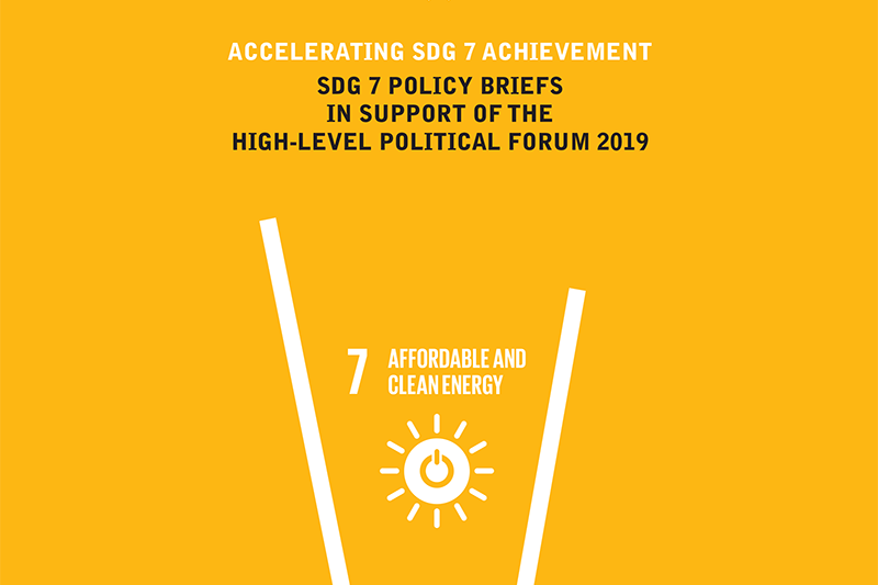 GFEI contributes to new SDG7 target achievement document