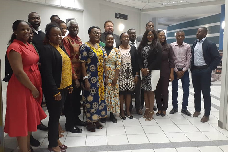 Participants at the Namibia workshop.