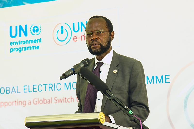 H.E. Hon. (Prof) Peter Anyang' Nyong'o, EGH - Governor Kisumu County Government.