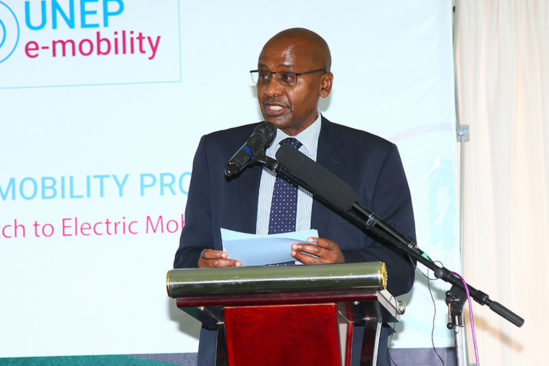 Mr. Solomon Kitungu, CBS, Principal Secretary for State Department for Transport - Ministry of Transport, Infrastructure, Housing, Urban Development and Public Works.