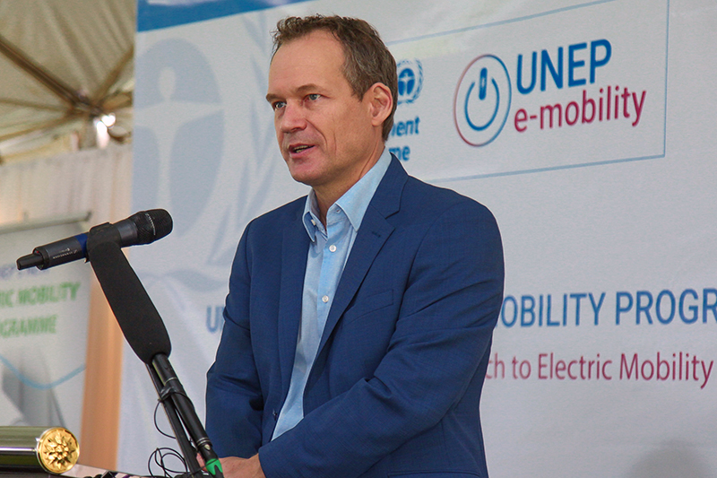 Mr. Rob de Jong – Head of Sustainable Mobility at the UN Environment Programme (UNEP).